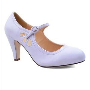 ⭐️ Women's Lavender Cutout Kimmy Mary Jane Pump